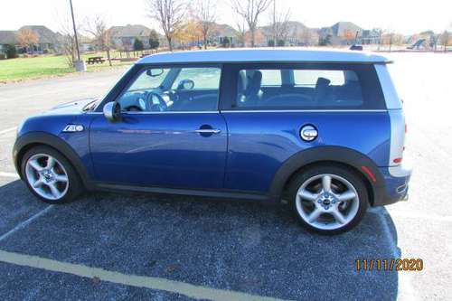 2008 MINI Cooper S Clubman - cars & trucks - by owner - vehicle... for sale in Greenwood, IN