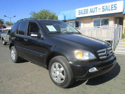 2004 Mercedes-Benz ML-350 - AWD - BRAND NEW TIES - MOON ROOF -... for sale in Sacramento , CA