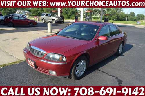*2005 LINCOLN LS LUXURY* LEATHER SUNROOF DVD KEYLES ALLOY WHEEL 621348 for sale in CRESTWOOD, IL