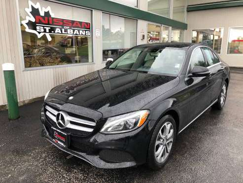 ********2016 MERCEDES-BENZ C300 4MATIC********NISSAN OF ST. ALBANS for sale in St. Albans, VT