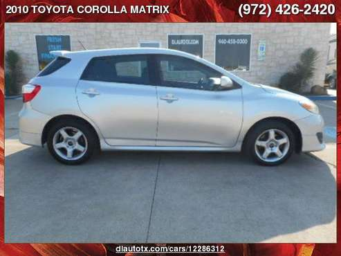2010 TOYOTA COROLLA MATRIX S for sale in Sanger, TX