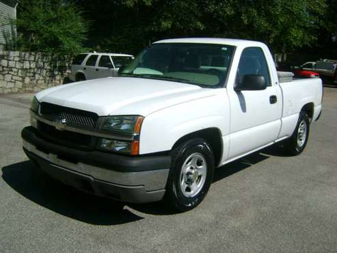 2004 Chevy Silverado V6 4x2 Short Bed Pick up Cold AC New Tires SHARP! for sale in Villa Rica, GA