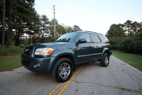 2005 TOYOTA SEQUOIA LIMITED 4X4 3RD ROW for sale in Garner, NC