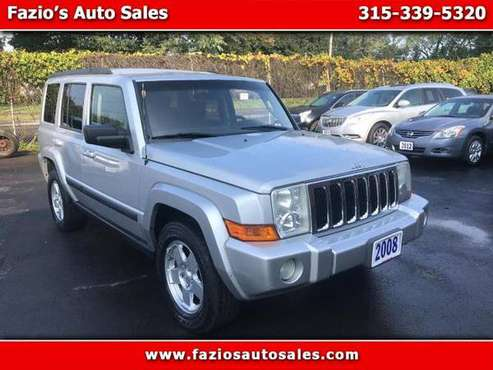 2008 Jeep Commander Sport 4WD for sale in Rome, NY