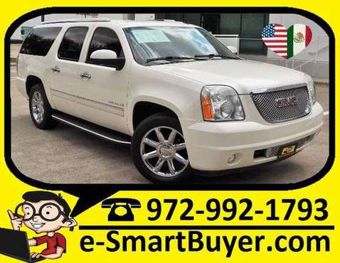 2009 GMC YUKON XL DENALI CASH/BANKs/CREDIT UNIONs/BuyHere PayHere for sale in Dallas, TX