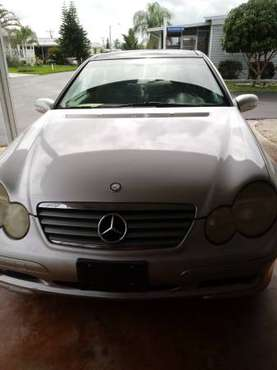 02 Mercedes C230 Kompressor Auto 170k for sale in North Fort Myers, FL