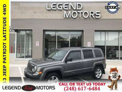 2013 Jeep Patriot Latitude for sale in Waterford, MI