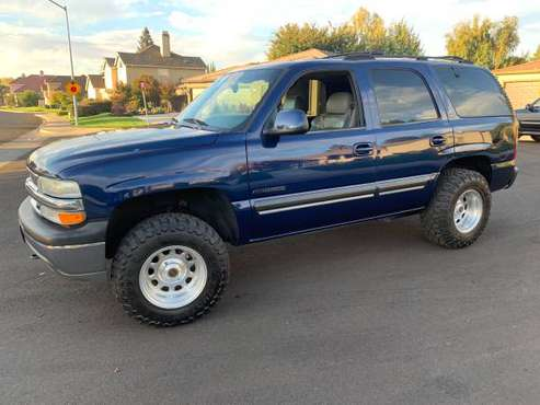 [[[2001 CHEVY TAHOE LT 5.3]]] for sale in Modesto, CA