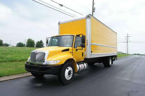 2012 International 4300 26 Foot Lift Gate for sale in Glyndon, MD