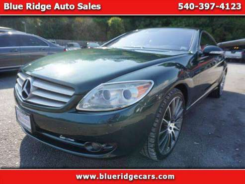2008 Mercedes-Benz CL-Class CL550 - ALL CREDIT WELCOME! for sale in Roanoke, VA