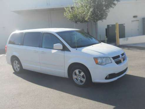 2012 DODGE GRAND CARAVAN (CREW) - cars & trucks - by owner - vehicle... for sale in Tucson, AZ