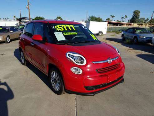 2014 Fiat 500L Easy FREE CARFAX ON EVERY VEHICLE for sale in Glendale, AZ