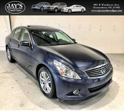 2012 Infiniti G25x **ONLY 41k MILES** Financing Available for sale in Greensboro, NC