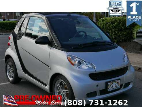 2012 SMART FORTWO PASSION, only 33k miles! for sale in Kailua-Kona, HI