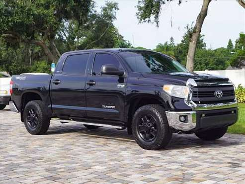 2015 *Toyota* *Tundra* *CrewMax 5.7L FFV V8 6-Spd AT TR for sale in Bradenton, FL