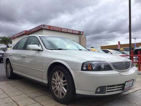 2005 Lincoln LS WOW!! LOW MILES!! MUST SEE!! ALL CREDIT APPROVED!!!! for sale in Chula vista, CA