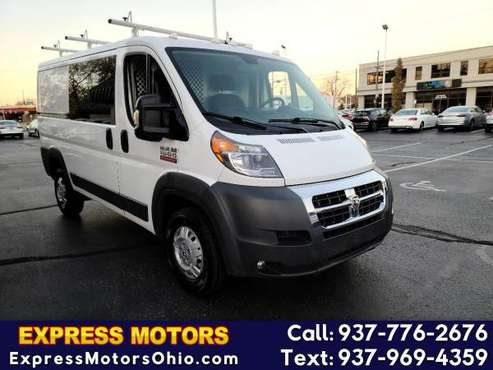 2017 RAM ProMaster Cargo Van 1500 Low Roof 136 WB GUARANT - cars &... for sale in Dayton, OH