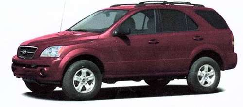 2005 KIA SORENTO LX SUV for sale in West Palm Beach, FL