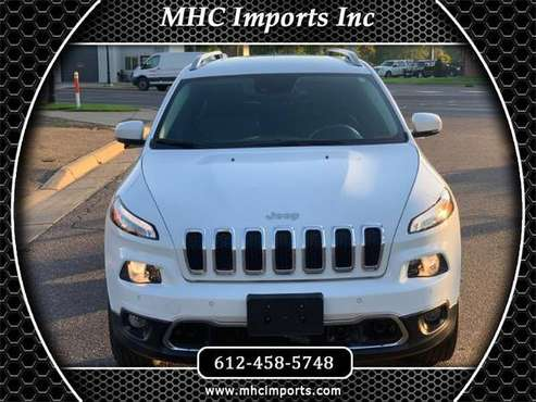 2014 Jeep Cherokee 4WD 4dr Limited for sale in Anoka, MN