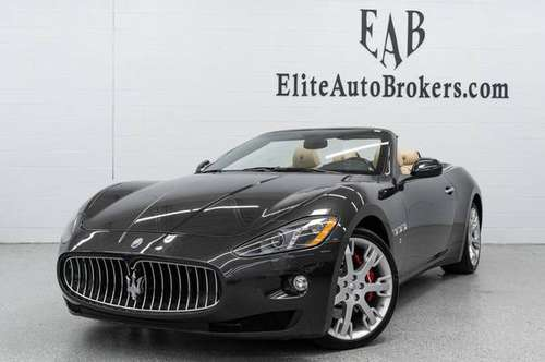 2015 *Maserati* *GranTurismo Convertible* *2dr* Grig for sale in Gaithersburg, MD