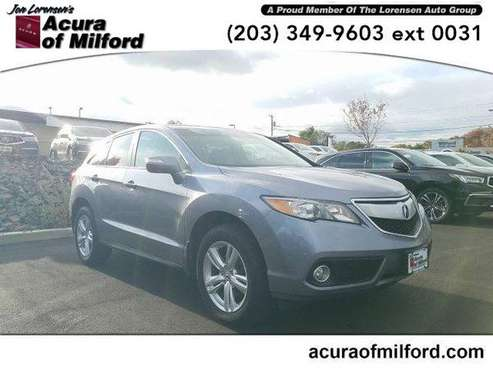 2015 Acura RDX SUV AWD 4dr Tech Pkg (Forged Silver Metallic) for sale in Milford, CT