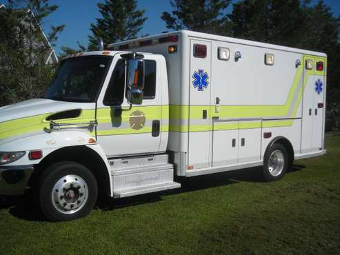 2003 International Ambulance for sale in Simpson, NC