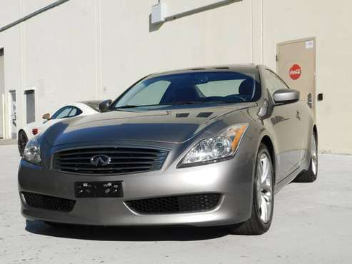 2008 INFINITI G37 JOURNEY COUPE,NAVI,TECH PK,BACK UP CAM,EXCELLENT.!!! for sale in PANO ROOF,LOADED,WARRANTY, CA
