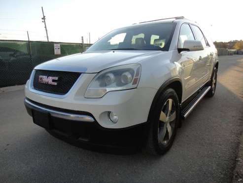 2011 GMC Acadia SLT-1 3.6L SID 184940 Miles 7-Passengers Automatic AWD for sale in Denver , CO