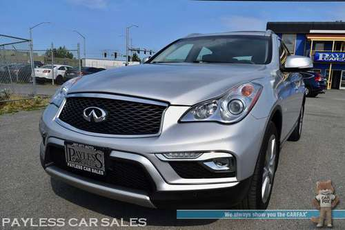 2017 INFINITI QX50 AWD / Power & Heated Leather Seats / Sunroof / Navi for sale in Anchorage, AK