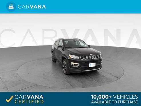 2017 Jeep Compass All New Limited Sport Utility 4D suv Black - FINANCE for sale in Atlanta, CA