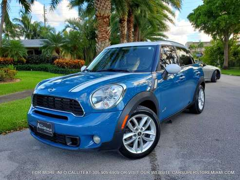 LIKE NEW 2011 MINI COOPER COUNTRYMAN S ALL4 CLEAN TITLE/CARFAX... for sale in Hollywood, FL