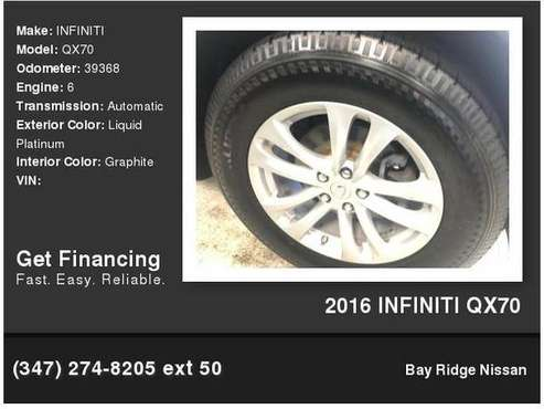 2016 INFINITI QX70 for sale in Brooklyn, NY