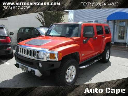 2008 HUMMER H3 LIMITED for sale in Hyannis, MA