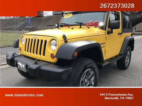 2011 Jeep Wrangler - Financing Available! for sale in Morrisville, PA