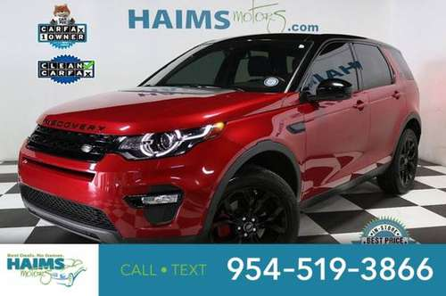 2017 Land Rover Discovery Sport HSE AWD for sale in Lauderdale Lakes, FL