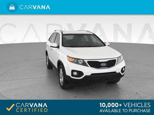 2012 Kia Sorento EX Sport Utility 4D suv White - FINANCE ONLINE for sale in Atlanta, CA