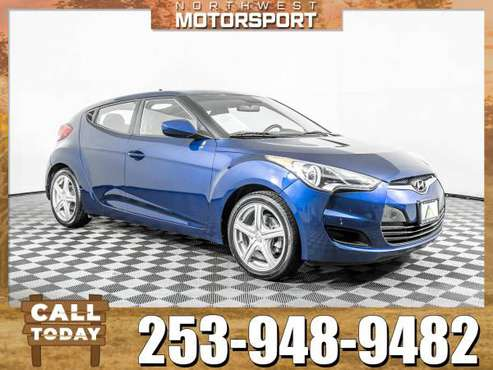2016 *Hyundai Veloster* FWD for sale in PUYALLUP, WA