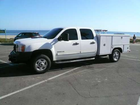 2011 GMC 2500HD Crew Cab 4X4 Utility Body for sale in Santa Barbara, CA