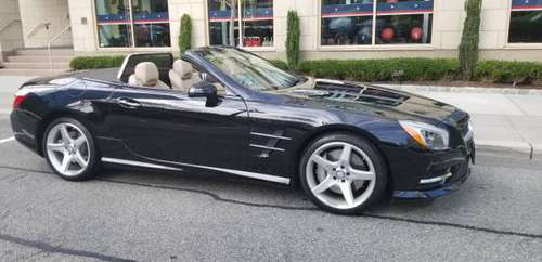 Spectacular Deal - SL550 Mercedes 2014 - 26,570 miles **under warranty for sale in Jersey City, NY