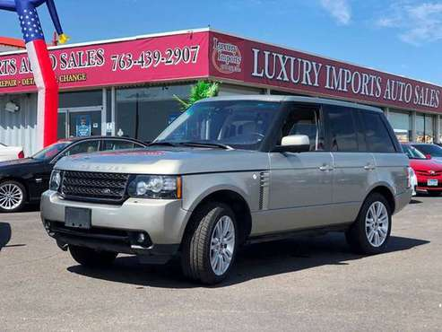 2012 Land Rover Range Rover 4x4 HSE LUX 4dr SUV one owner for sale in North Branch, MN