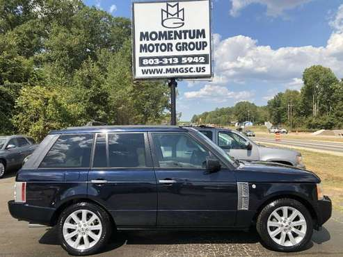 2007 Land Rover Range Rover SUPERCHARGED $1500 DOWN OR LESS/BUY HERE... for sale in Lancaster , SC