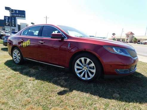 2013 LINCOLN MKS Ruby Red Tinted Metallic ON SPECIAL! for sale in Pensacola, FL