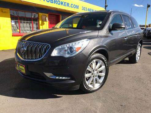 2014 Buick Enclave Leather AWD 4dr Crossover - BAD CREDIT... for sale in Denver , CO