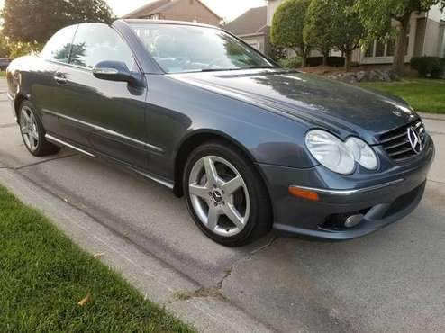2005 mercedes benz CLK 500 convertible for sale in Farmington Hills, MI