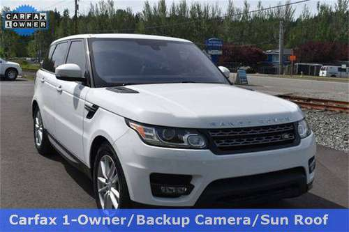 2016 Land Rover Range Rover Sport 3.0L V6 Supercharged SE Model Gua for sale in Woodinville, WA