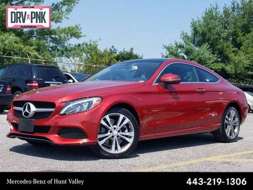 2017 Mercedes-Benz C-Class C 300 AWD All Wheel Drive SKU:HF337321 for sale in Cockeysville, MD