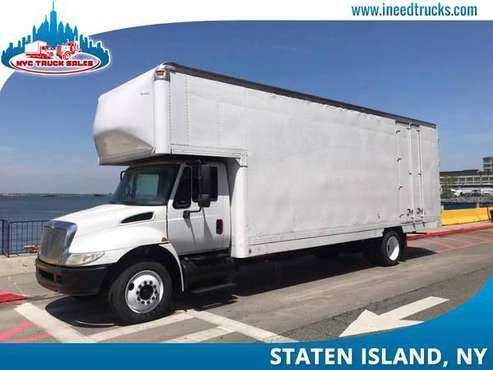 2008 INTERNATIONAL 4300 26' FEET MOVING VAN BODY MOVING TRUCK-new jers for sale in STATEN ISLAND, NY