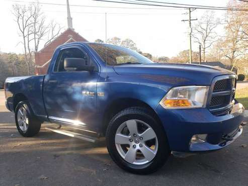 "2011 Ram 1500 4WD Reg Cab 120.5"" ST - cars & trucks - by dealer -... for sale in Gastonia, SC"