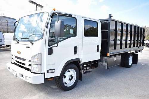 2017 BRAND NEW CHEVY/ISUZU CREW CAB DIESEL DUMP TRUCK-FACT.WARR. 06/22 for sale in Cliffwood, NY