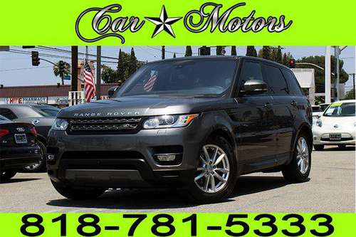 2016 LAND ROVER RANGE ROVER SPORT SE **0-500 DOWN. *BAD CREDIT NO... for sale in Los Angeles, CA